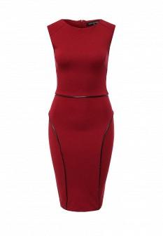 Бордовое платье Top Secret