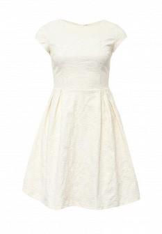 Молочное платье Top Secret
