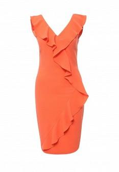 Оранжевое коралловое платье Top Secret