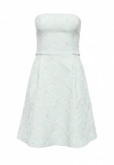 Мятное осеннее платье Top Secret