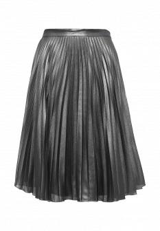 Осенняя серебряная юбка Top Secret