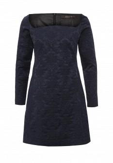 Синее осеннее платье Tsurpal