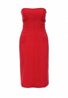 Красное осеннее платье Tsurpal