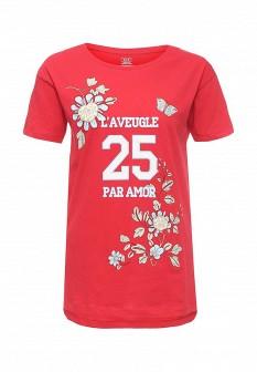 Женская красная футболка ТВОЕ