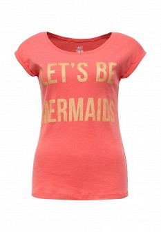 Женская коралловая футболка ТВОЕ