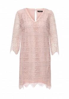 Розовое платье Twin-Set Simona Barbieri