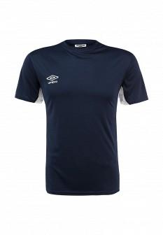 Мужская синяя спортивная футболка
