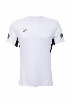 Мужская белая осенняя спортивная футболка