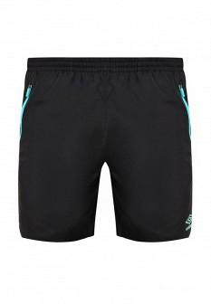 Мужские черные осенние спортивные шорты
