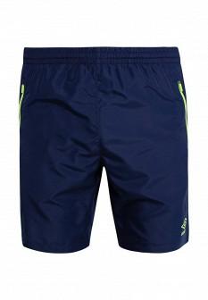 Мужские синие осенние спортивные шорты