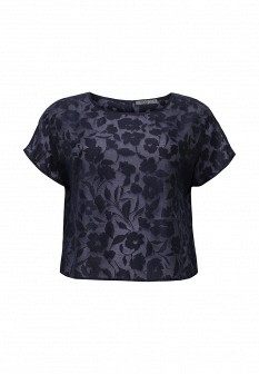Синяя блузка UNQ