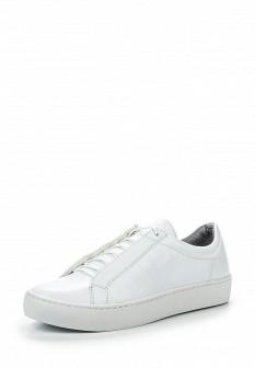 Женские белые кожаные кеды Vagabond