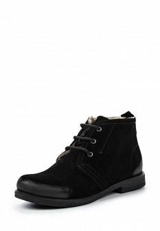 Женские черные осенние ботинки