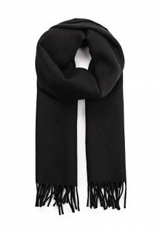 Мужской черный итальянский осенний летний шарф