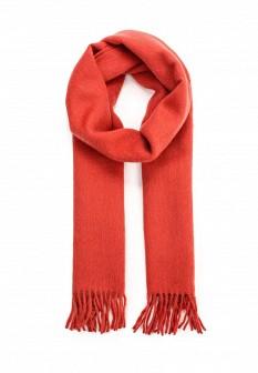 Мужской красный итальянский коралловый летний шарф