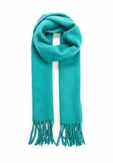 Мужской бирюзовый итальянский осенний летний шарф