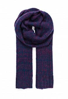 Женский фиолетовый итальянский осенний шарф