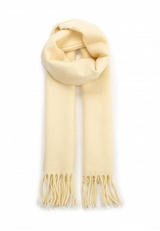 Женский бежевый итальянский осенний летний шарф