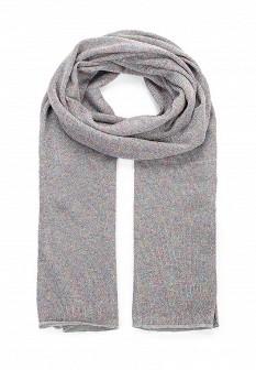 Женский серый итальянский шарф