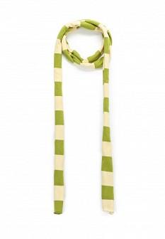 Женский зеленый итальянский шарф