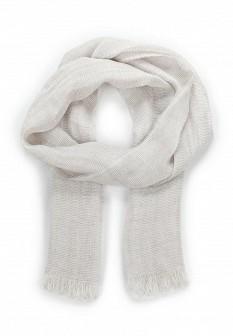 Женский белый итальянский осенний летний шарф