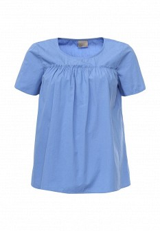 Женская голубая футболка Vero moda