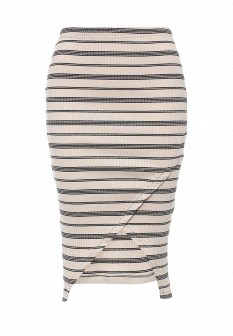 Бежевая юбка Vero moda