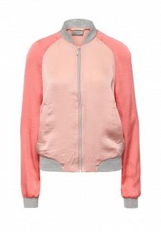 Женская коралловая куртка