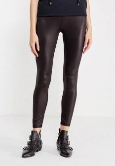 Черные осенние леггинсы Vero moda