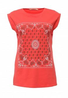 Женская коралловая футболка Vis-a-vis