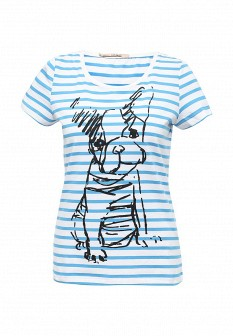 Женская голубая футболка Vis-a-vis