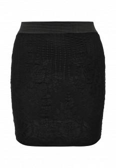 Черная юбка Vila