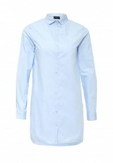 Женская голубая рубашка Vila