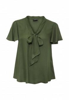 Зеленая блузка Vila