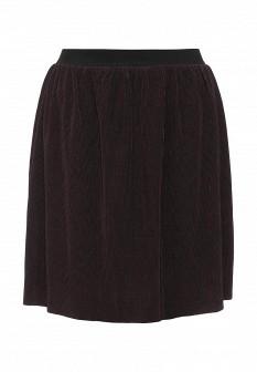 Бордовая осенняя юбка Vila