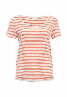 Женская оранжевая футболка Vila