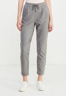 Женские серые осенние брюки Vila