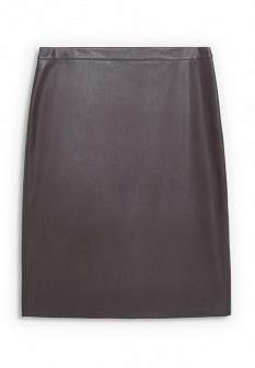 Коричневая осенняя юбка Violeta by Mango