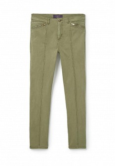 Женские зеленые брюки Violeta by Mango