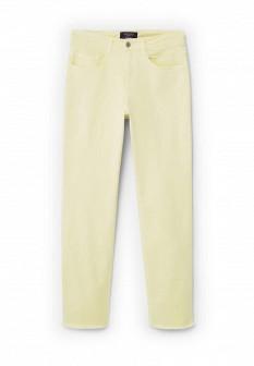 Женские желтые осенние джинсы