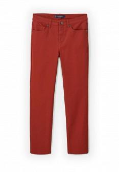 Женские красные осенние джинсы