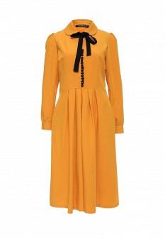 Желтое платье Vika Smolyanitskaya