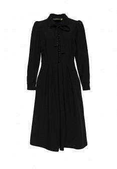 Черное платье Vika Smolyanitskaya