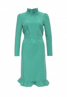Зеленое платье Vika Smolyanitskaya