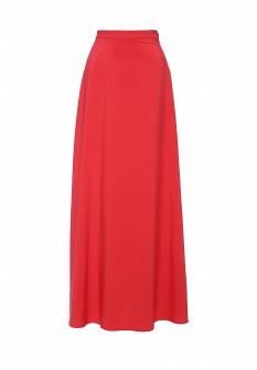 Красная осенняя юбка Vittoria Vicci