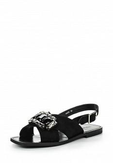 Женские черные сандалии Vitacci