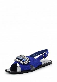 Женские синие сандалии Vitacci
