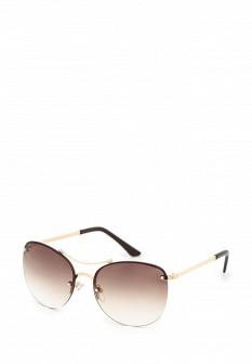 Женские бежевые солнцезащитные очки
