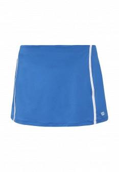 Синяя осенняя юбка Wilson