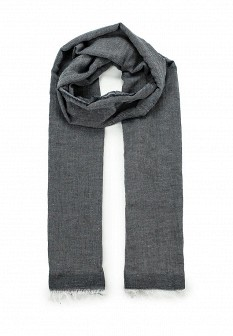 Мужской серый итальянский шарф
